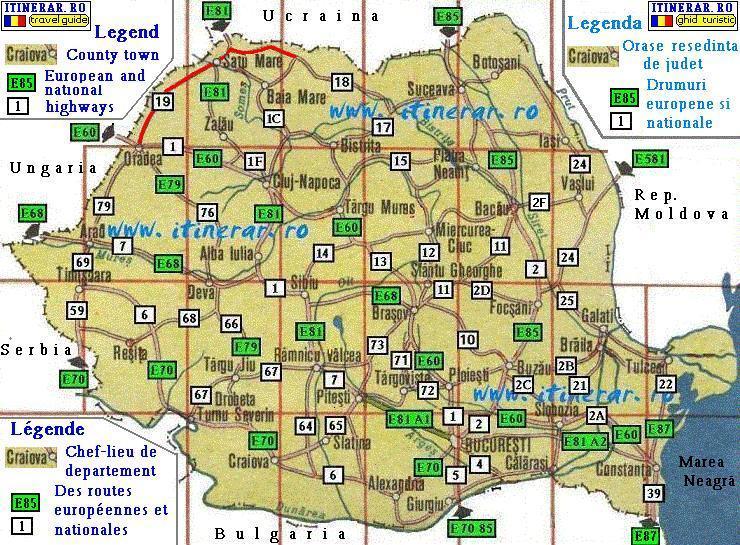 Itinerare Excursii Drumul National Dn 19 Oradea Carei Satu Mare